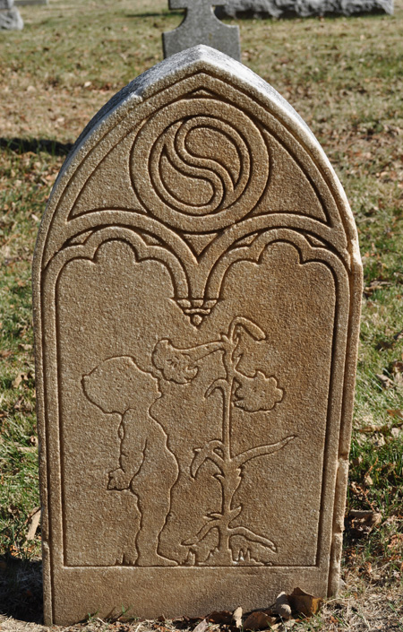Matt Chopps tombstone, Mount Calvary Cemetery, Columbus, Ohio