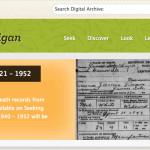 Finding New Death Certificates on Seeking Michigan