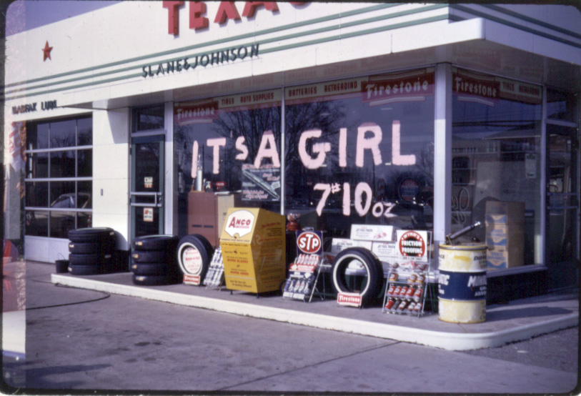 texaco-birth-announcement
