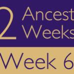 52 Ancestors Challenge 2015: Week 6 Recap
